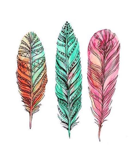 feather pattern tumblr tribal print on tumblr