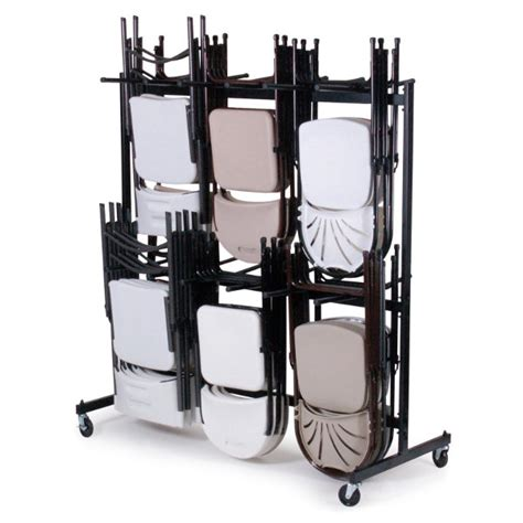 folding chair rack wheels folding chair storage 101 national event supply