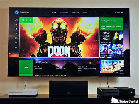 80 Inch Tv Gaming by Best 4k Hdr Tv For Xbox One S Windows Central