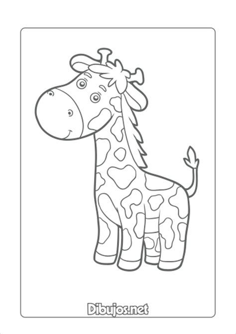 imagenes jirafas para colorear 10 dibujos de animales para imprimir y colorear dibujos net