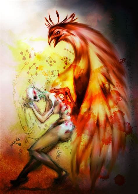 phoenix rising from the ashes tattoo rising by sliver ashes deviantart on