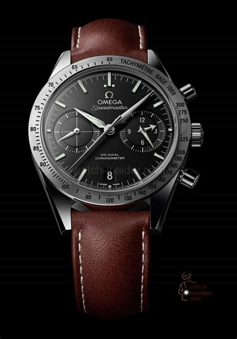 Top Casual 57 the omega speedmaster 57 co axial chronograph