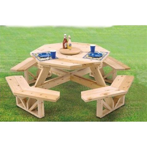 octagon picnic table for sale 17 best ideas about woodworking patterns on