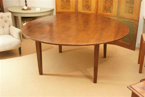 72 round dining room tables large 72 quot round english farmhouse dining table at 1stdibs