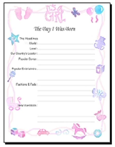 printable baby book template pages free printable baby book pages scrapbookscrapbook