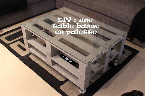 Tuto Table Basse En Palette by Faire Une Table Basse Avec Des Palettes Avec Diy Une Table