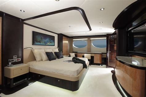 yacht bedroom yacht majesty 125 gulf craft majesty yachts