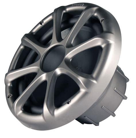 Kickers Limited 4 kicker marine audio km104w km series subwoofer speaker 4 ohm white color 11km104w limited