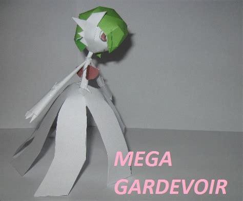 Gardevoir Papercraft - mega gardevoir papercraft by amigolol on deviantart