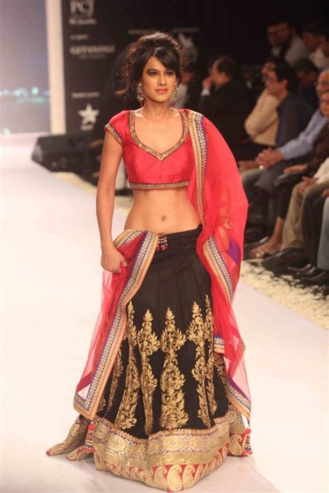 Sharma Designs The Of A - nia sharma in a gorgeous and black designer lehenga
