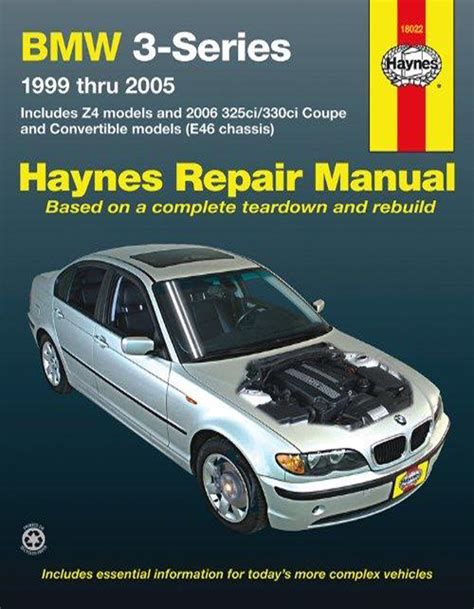 hayes car manuals 2003 bmw m3 electronic throttle control bmw 3 series and z4 haynes repair manual 1999 2005 hay18022