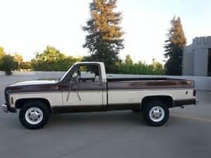 sell used 1978 gmc truck 3 4 ton in california in