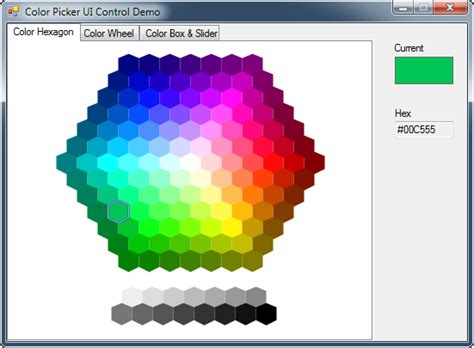 color hex picker mechanika design colorpicker controls for windows forms