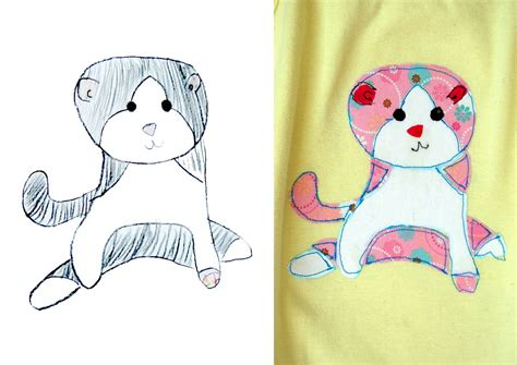 Sketches For 8 Year Olds by How To Make Children S Drawings Appliqu 233 T Shirts