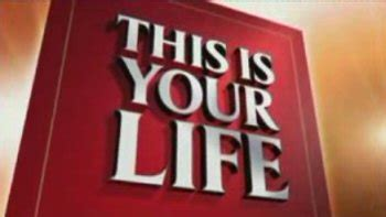 this is your life template this is your uk tv series