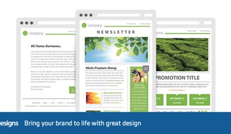 223 Free Responsive Email Templates Outlook Email Blast Templates