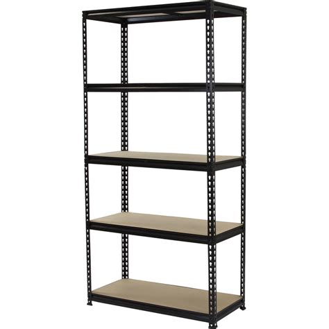 5 Tier Shelf Unit by 1830 X 910 X 410mm 5 Tier Adjustable Shelving Unit