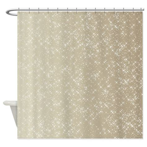 gold and white shower curtain sparkling gold and white shower curtain by be inspired by life