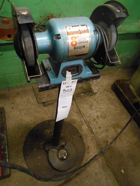 clarke bench grinder clarke 8 quot bench grinder w stand