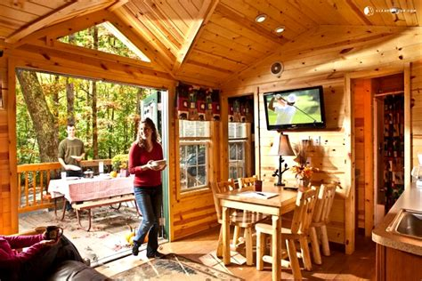 Williamsburg Cabins by Deluxe Cabin Rental In Historic Williamsburg Virginia