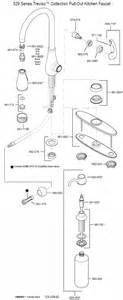 Kitchen Faucet Diagram Price Pfister Kitchen Faucet Parts Diagram