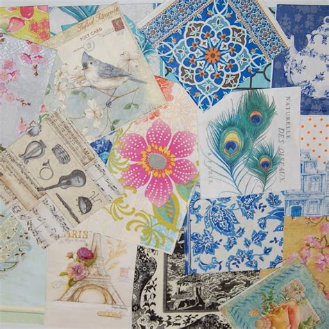 Paper Napkins Decoupage - decoupage napkins lot 20 beautiful paper napkins 20