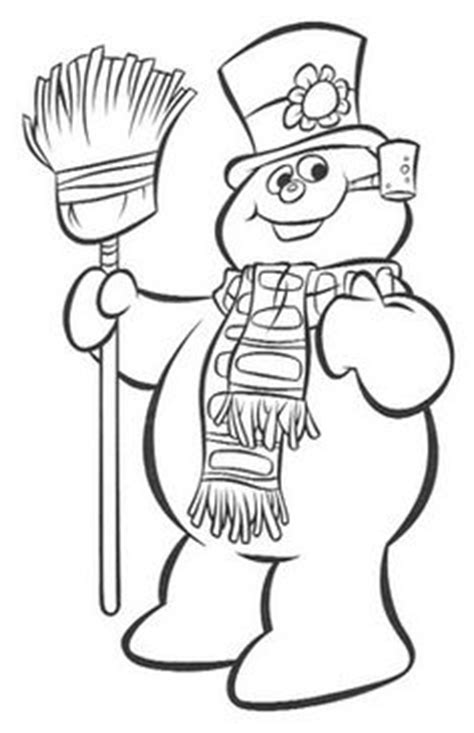 1000 Images About Coloring Sheets On Pinterest Coloring Frosty Coloring Page