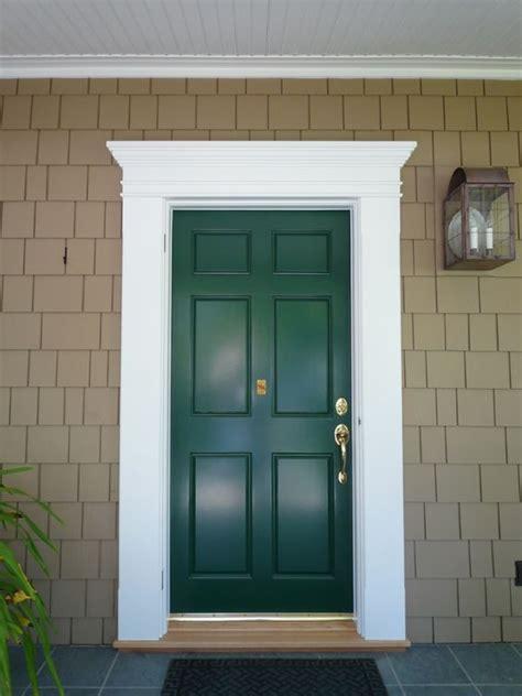 Exterior Door Header Traditional Traditional Doors And Front Door Trims On