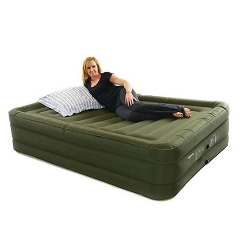 air bed patch raised air bed inflatable queen mattress w rechargeable