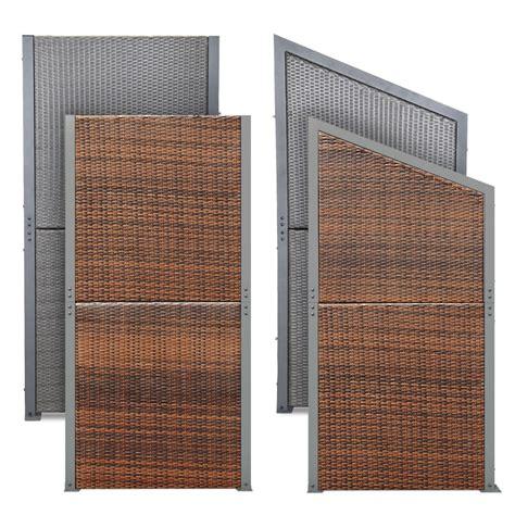 paravent für fotos sichtschutz terrasse polyrattan die neueste innovation