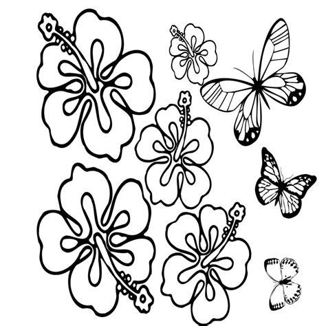 imagenes para colorear jardin plantillas de flores y mariposas para pintar vestidos