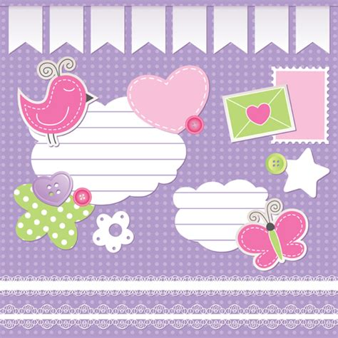 cute wallpaper vector free download cute baby backgrounds vector 01 vector background free