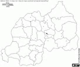 uganda map coloring page political maps of africa countries coloring pages