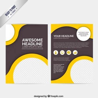 graphic design flyer templates free flyer template vectors photos and psd files free