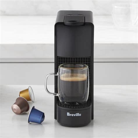 Coffee Maker Mini nespresso essenza mini espresso maker williams sonoma