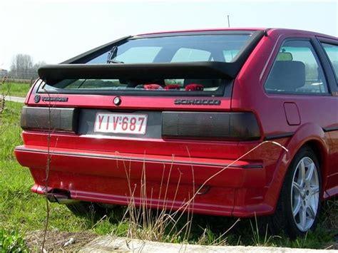 volkswagen scirocco 1989 image gallery scirocco spoiler 1990