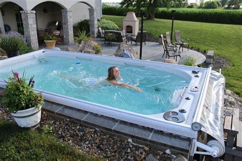 pool spa tub pool combo designs swim spool or gunite spa