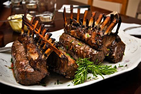 a recipe for roasted rack of lamb