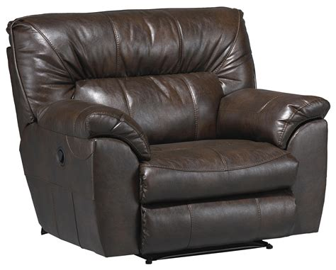 extra wide leather recliner extra wide faux leather cuddler recliner with casual