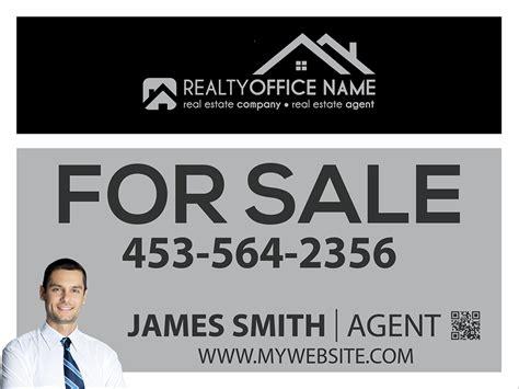 real estate sign template real estate yard sign template realtor yard sign template