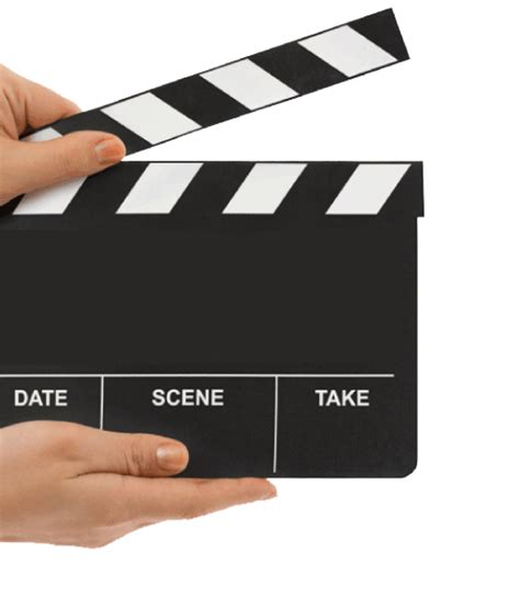 pics for gt clapper board png