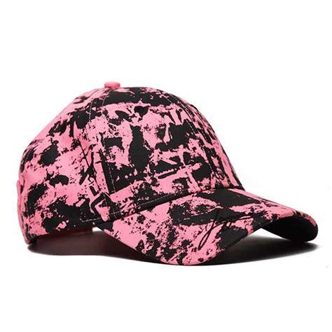 pink camo cap p4h pink camo cap