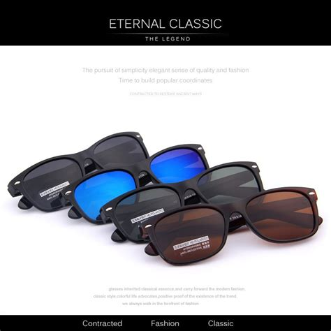 top brand designed polarized sunglass classical retro
