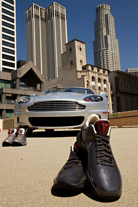 Bryant Aston Martin by Aston Martin Partners With Nike Basketball To Introduce