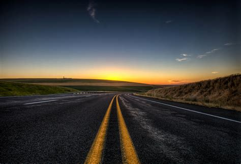 wallpaper sunlight sunset night sky road sunrise