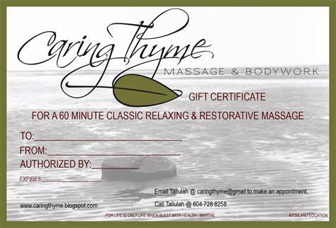 templates for massage gift certificates site unavailable