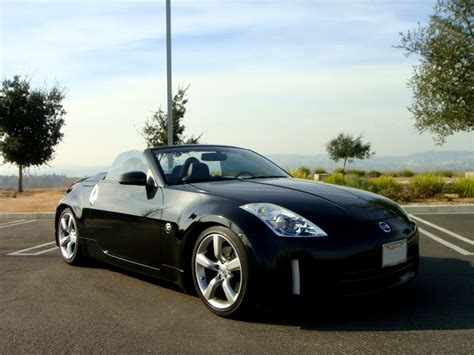 nissan convertible black nissan 350z convertible black www imgkid com the image