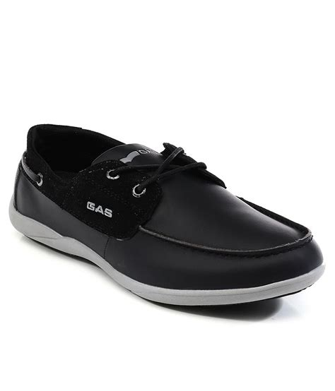 Cb Casual 1 gas black boat style shoes buy gas black boat style