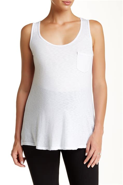 Does Nordstrom Rack Maternity by Lamade Boyfriend Maternity Tank Maternity Nordstrom Rack
