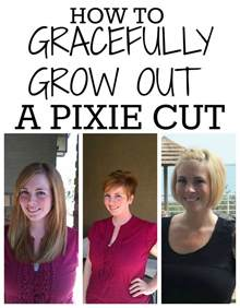 photos of hair growing out from cut how to grow out a pixie haircut
